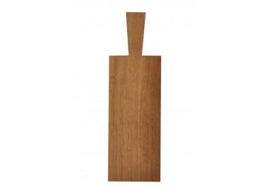 Planche à découper épaisse en chêne clair (29x12x2,2 cm + 10 cm) - Raumgestalt