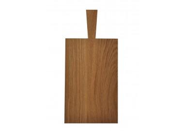 Grande planche à découper en chêne clair (33,5x21x1,8 cm + 11,5) - Raumgestalt