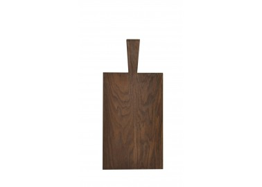 Grande planche à découper en chêne foncé (33,5 x 21 x 1,8 cm + 11,5 cm) - Raumgestalt