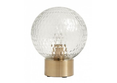 Lampe à poser Globe à facettes - Nordal