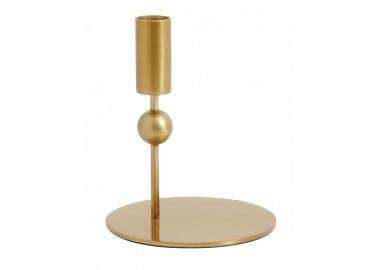 Bougeoir doré Mercury - Nordal