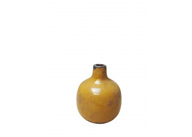 Petit vase céramique moutarde - Chehoma