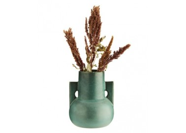Vase amphore vert - Fleurs - Madam Stoltz