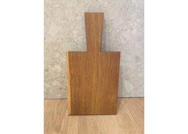Petite planche à découper en chêne (17,5x13,5x1,2 cm + 9 cm) - Raumgestalt
