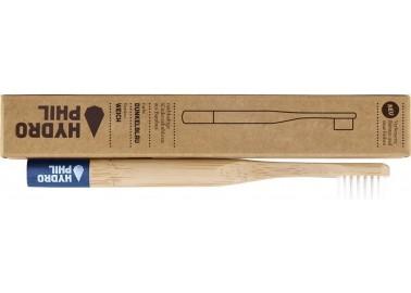 Brosse à dent en bambou Medium - Bleu foncé - Lamazuna