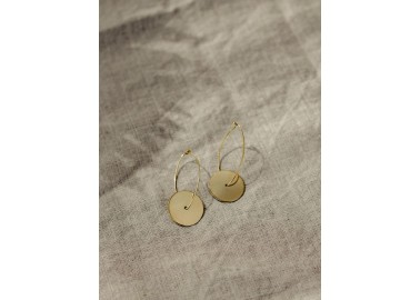 Boucles d'oreilles Santosa - Zoom - Jeannette