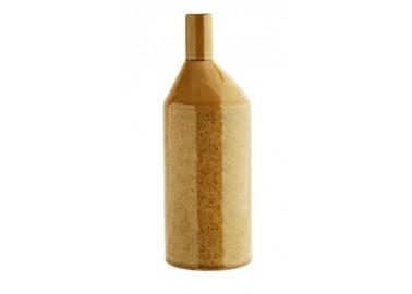 Vase en grès jaune moutarde - Madam Stoltz