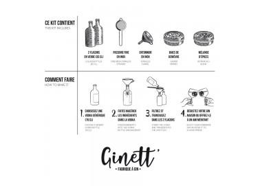 Kit de Fabrication de Gin - Notice - La Fabrique à bière