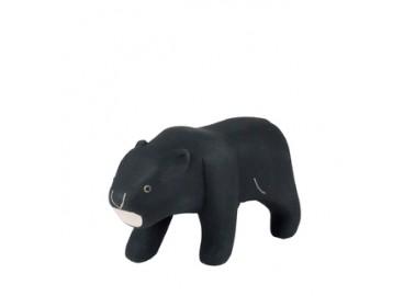 Panthère noire en bois - T-lab