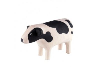 Vache en bois - T-lab