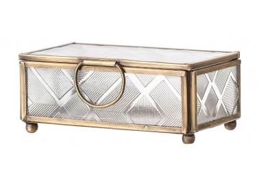 Petite boîte à bijoux Art déco - Bloomingville