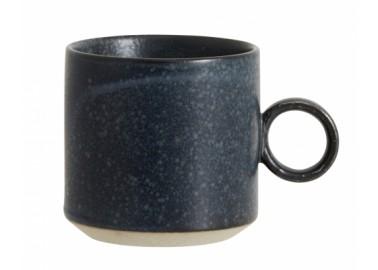 Mug Grainy bleu nuit - Nordal