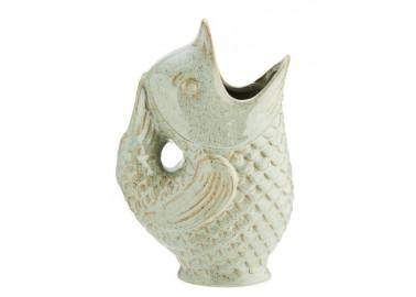 Carafe poisson en céramique - Madam Stoltz
