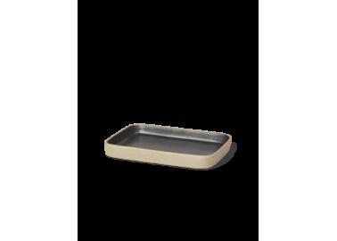Porte-savon en porcelaine effet brut - Ferm Living