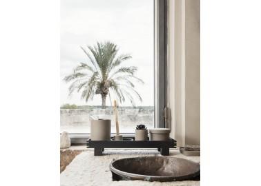 Porte-savon avec trous en porcelaine effet brut - Salle de bain - Ferm Living