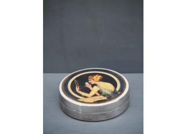 Boîte ronde La poudre - Chehoma
