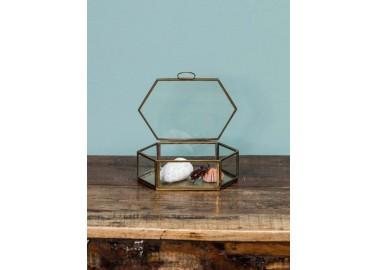 Boîte à bijoux hexagonale - Chehoma