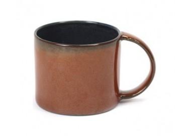 Tasse à espresso Dark Blue / Rust – Anita Le Grelle - Serax