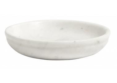 Porte-savon en marbre blanc - Nordal