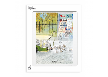 Affiche The New Yorker – Sempé – Bus 30x40 - Image Republic