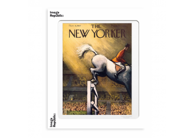 Affiche The New Yorker – Getz – Horse jumping 30x40 - Image Republic
