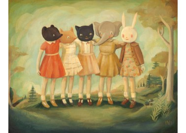 Affiche – Bess, Maude, Frances, Matilda & Maryanne - Emily Winfield Martin
