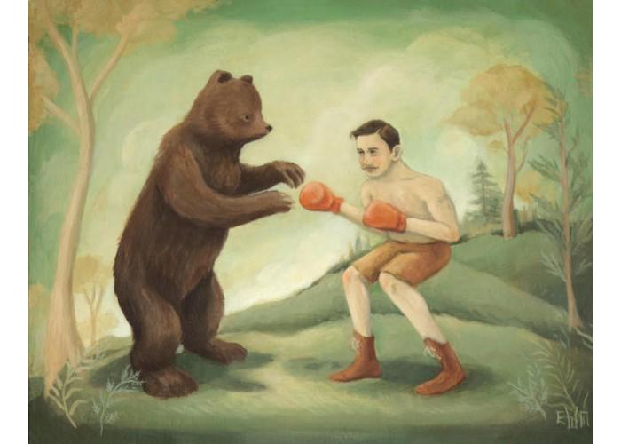 Affiche – Boxing Match