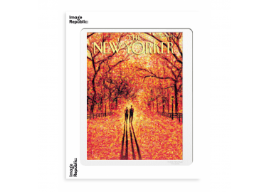Affiche The New Yorker – Drooker – Autumn leaves 30x40 - Image Republic