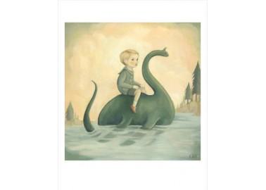 Affiche – In The Secret Lake Print - Emily Winfield Martin