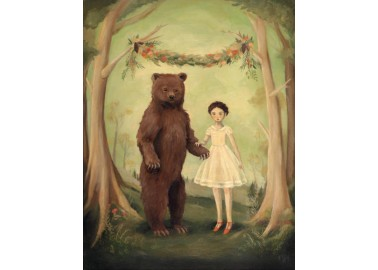 Affiche – In the Spring, She Married a Bear - Emily Winfield Martin