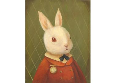 Affiche – The White Rabbit - Emily WInfield Martin