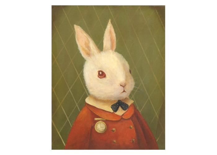 Affiche – The White Rabbit