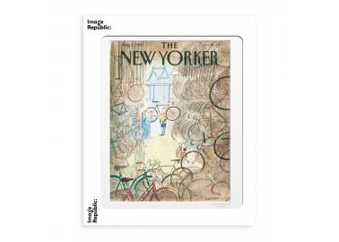 Affiche The New Yorker – Sempé – Garage vélos 30x40 - Image Republic