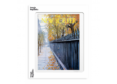 Affiche The New Yorker – Getz – Autumn 30x40 - Image Republic