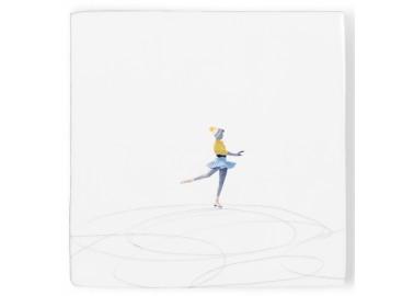 Carreau de céramique – Life's a pirouette - Storytiles