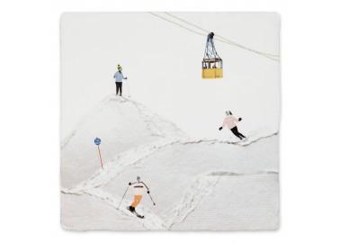 Carreau de céramique – Winter sports - Storytiles
