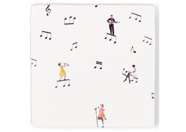 Carreau de céramique – There's music in the air - Storytiles
