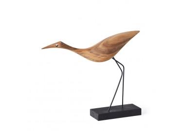 Oiseau en bois - Low Heron - Warm Nordic