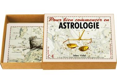 Pour bien commencer en astrologie - Marc Vidal