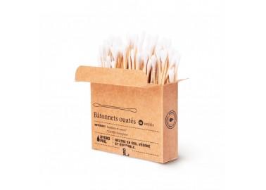 Bâtonnets ouatés en bambou - Hydrophil