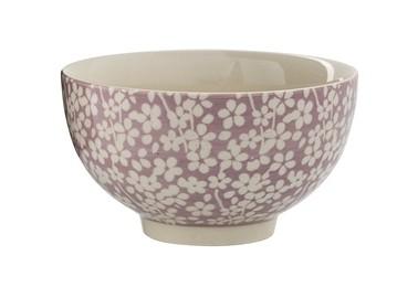 Petit bol rose et blanc à motifs - Bloomingville