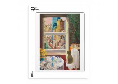 Affiche Sempé – Chat New York 30x40 - Image Republic