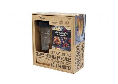 Coffret Cadeau Shaker à crêpes - Recettes - Cookut