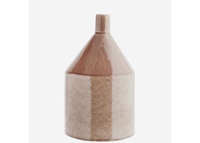 Vase en grès rose - Madam Stoltz
