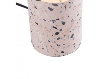 Lampe en terrazzo rose - Socle - Qazqa
