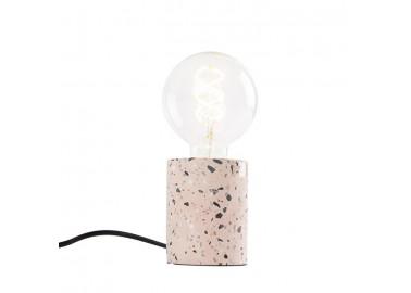 Lampe en terrazzo rose - Couleur - Qazqa
