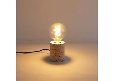 Lampe en terrazzo rose - Lumière - Qazqa