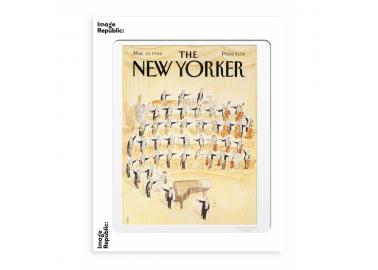 Affiche The New Yorker – Sempé – Orchestre 30x40 - Image Republic