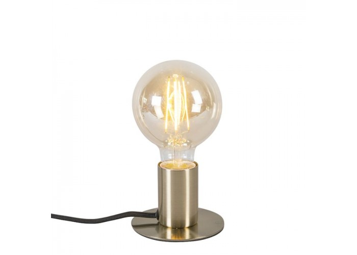 Lampe art déco en laiton - Déco - Qazqa