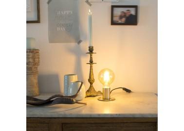 Lampe art déco en laiton - Console - Qazqa